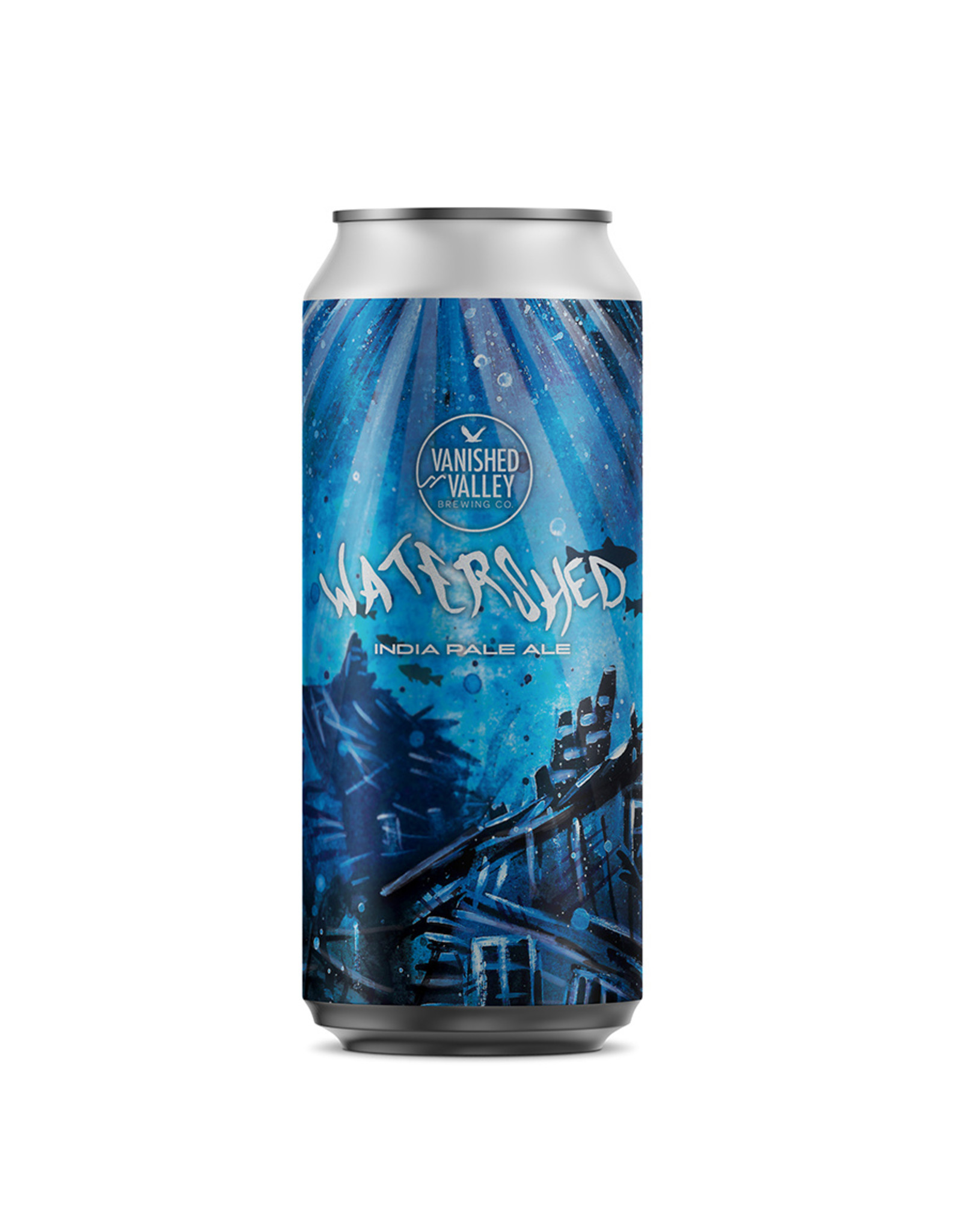 Vanished Valley Brewing 'Watershed' IPA 16oz 4pk Cans