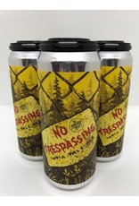 Vanished Valley Brewing 'No Trespassing' IPA 16oz 4pk Cans