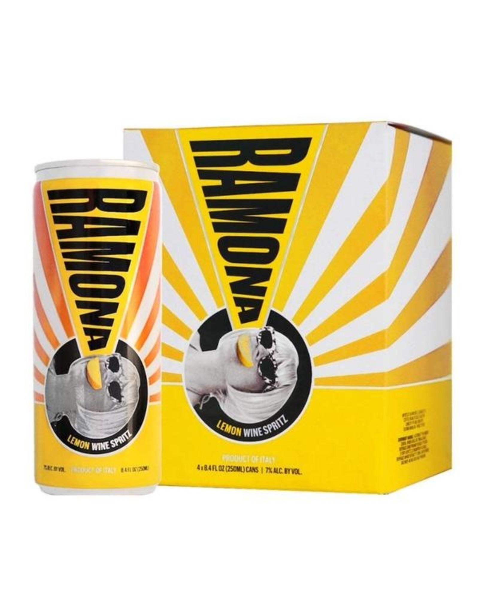Ramona Artisanal Lemon Wine Cooler 4pk