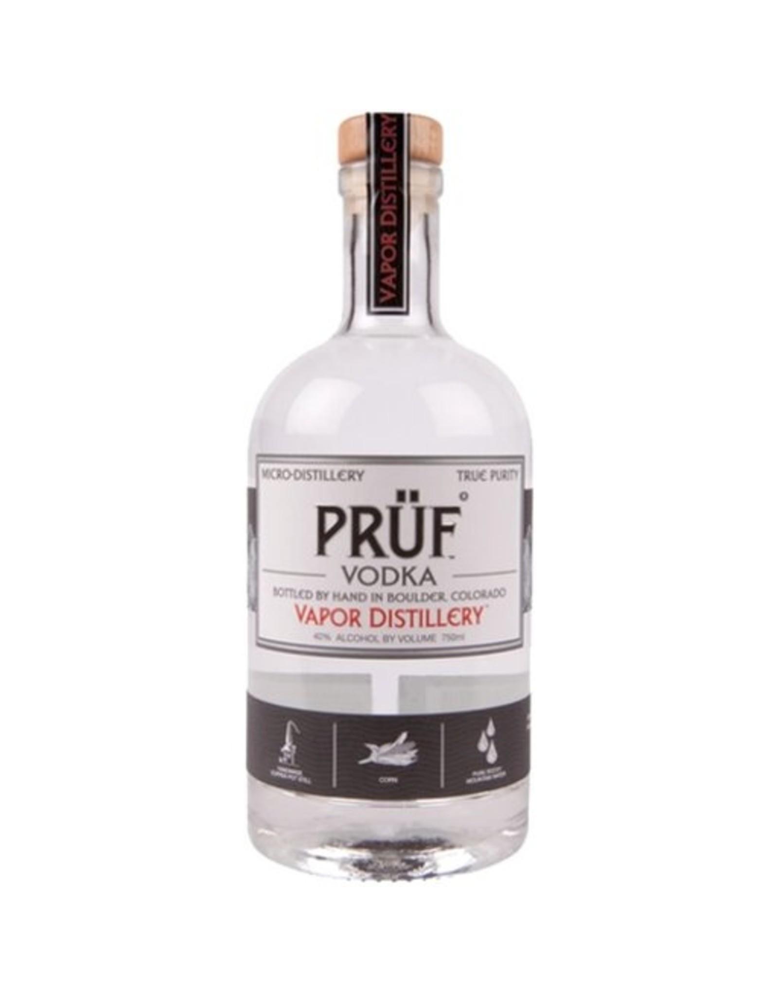 Vapor Distillery Pruf Vodka