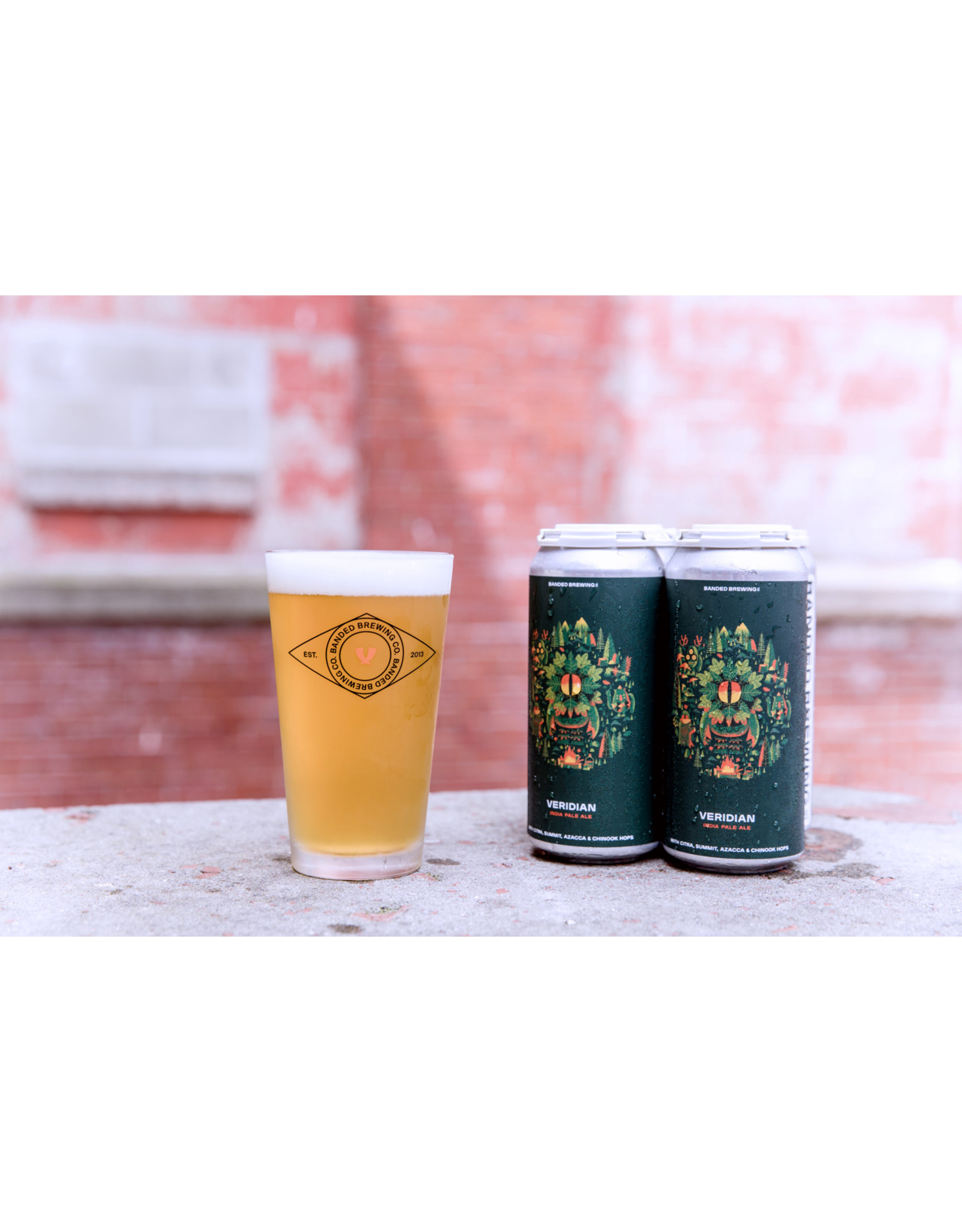 Banded Brewing Veridian IPA 4pk 16oz Cans