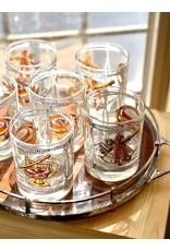 George Briard Rocks Glasses 'Nautical Instrument' (Set of 6)