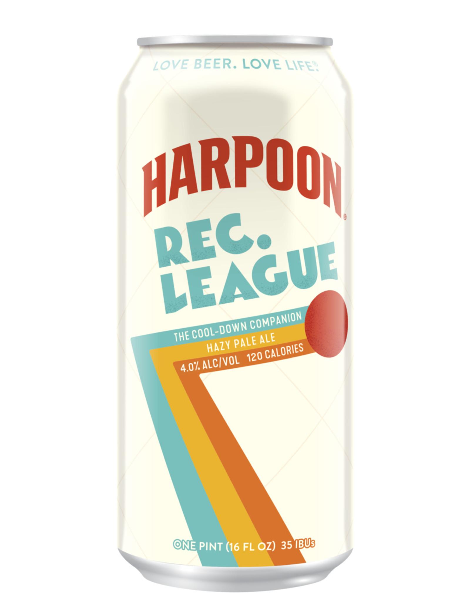 Harpoon Rec League Hazy Session IPA 16oz 4pk Cans