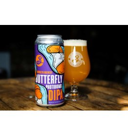 Brooklyn  Butterfly Photobomb DIPA 16oz 4pk Cans
