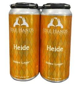 Idle Hands Heide Helles Lager 16oz 4pk Cans