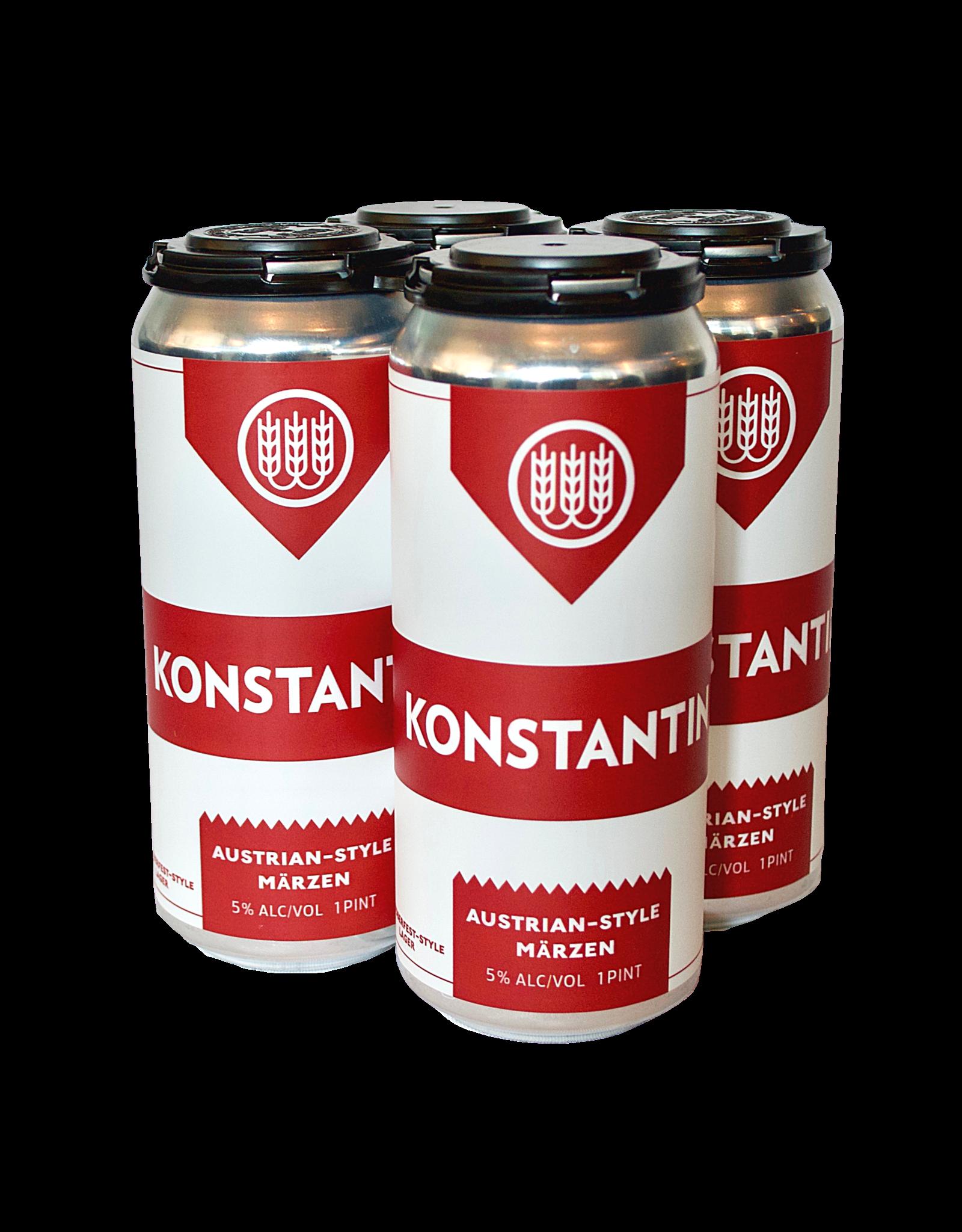 Schilling Beer Co. Konstantin Marzen 4pk 16oz cans