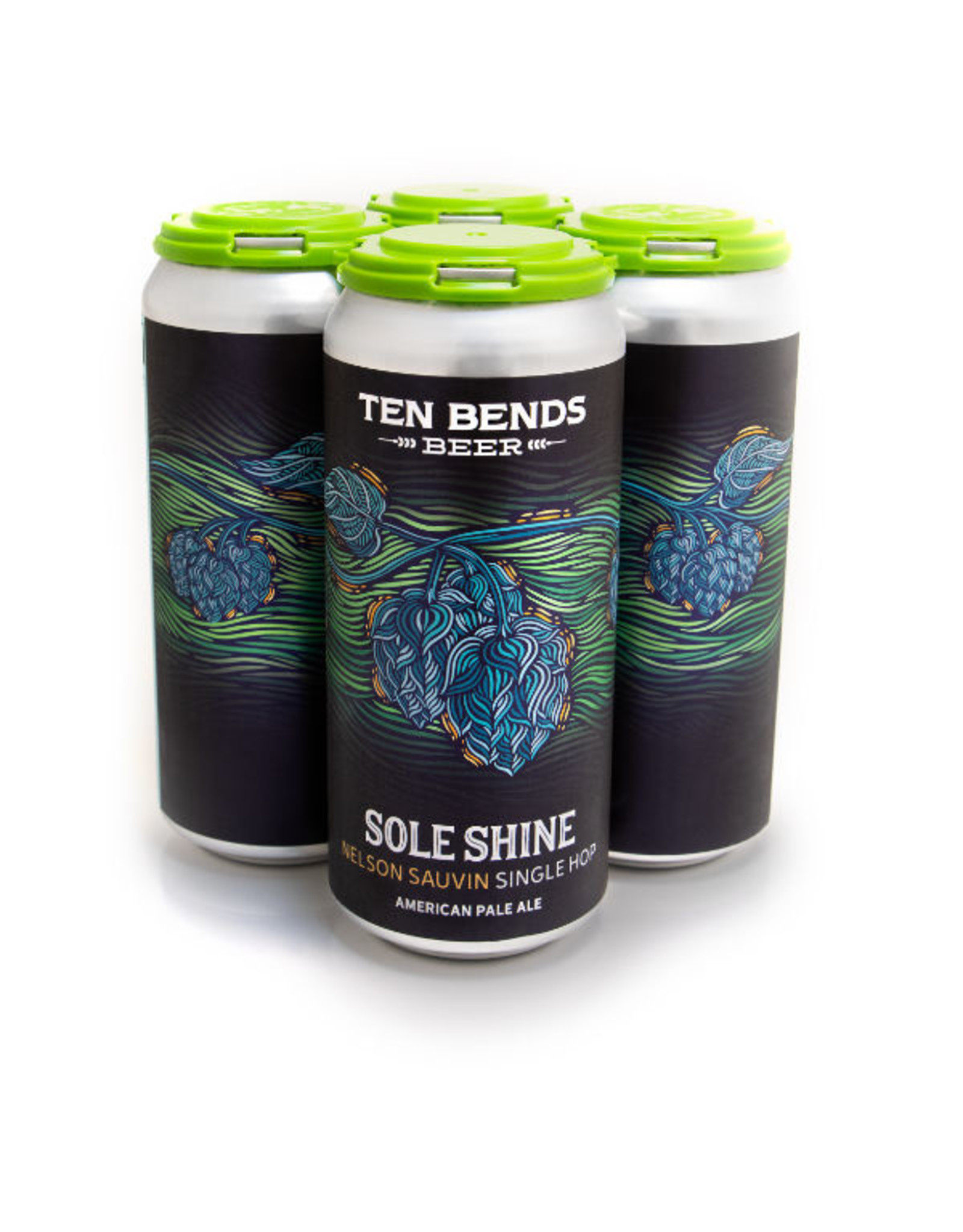 Ten Bends Sole Shine: Nelson Sauvin APA 16oz 4pk Cans