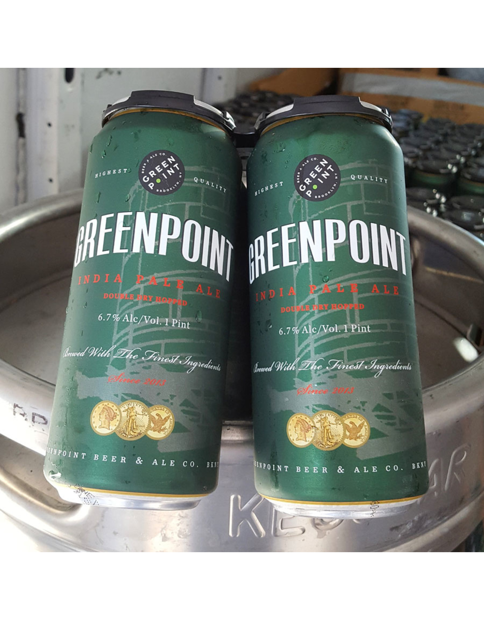Greenpoint IPA 4pk 16oz Cans