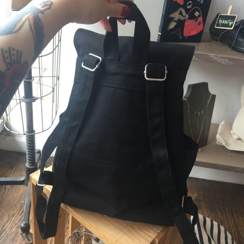 Baggu Drawstring Backpack - Black