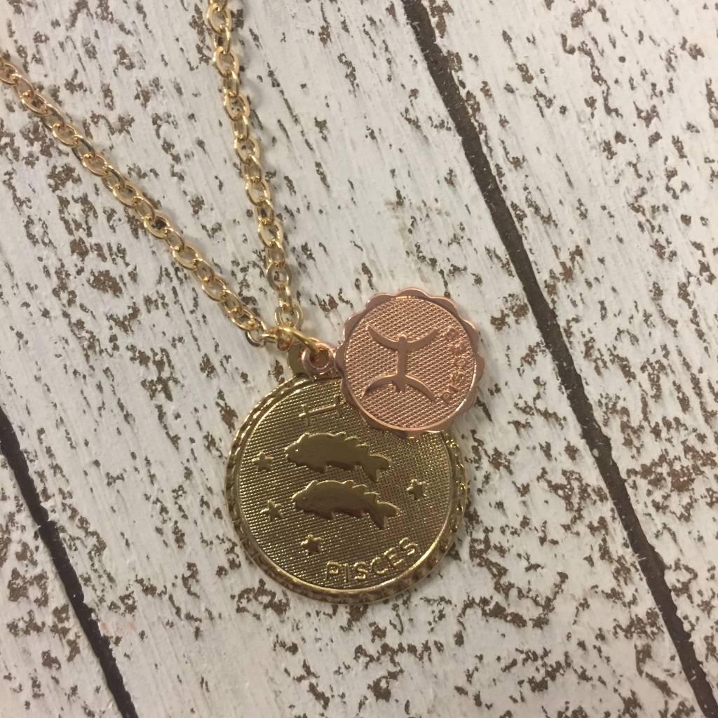 Bonnie Jonas Zodiac Medallion - Pisces