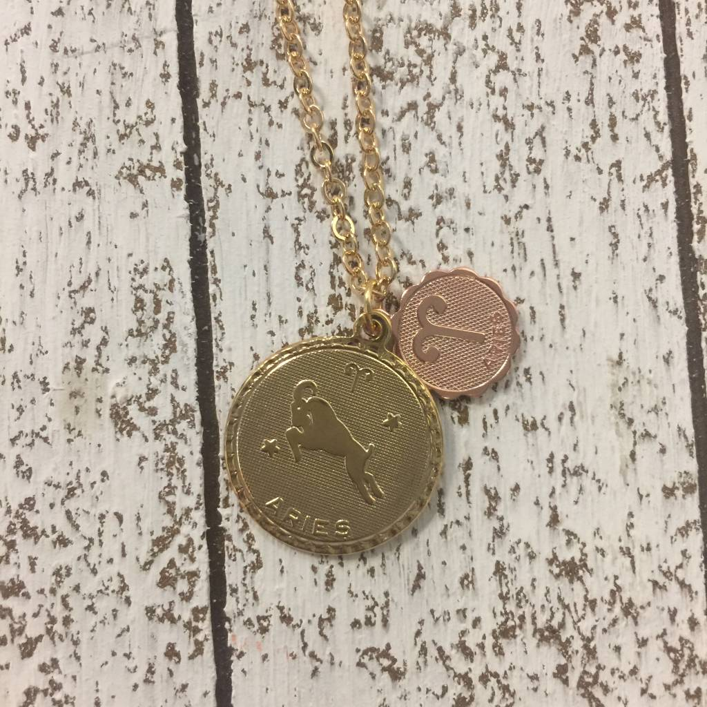 Bonnie Jonas Zodiac Medallion - Aries