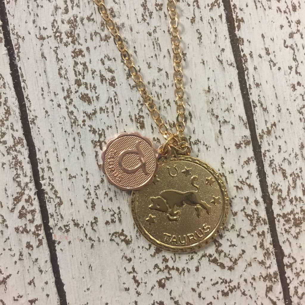 Bonnie Jonas Zodiac Medallion - Taurus