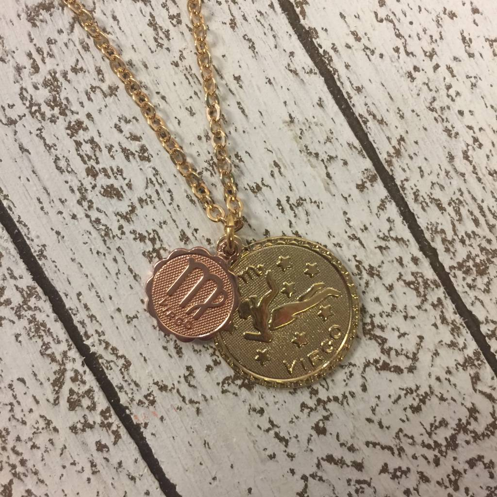 Bonnie Jonas Zodiac Medallion - Virgo