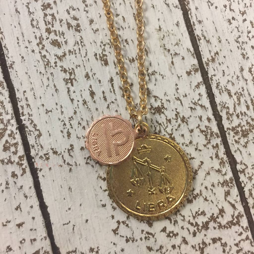 Bonnie Jonas Zodiac Medallion - Libra