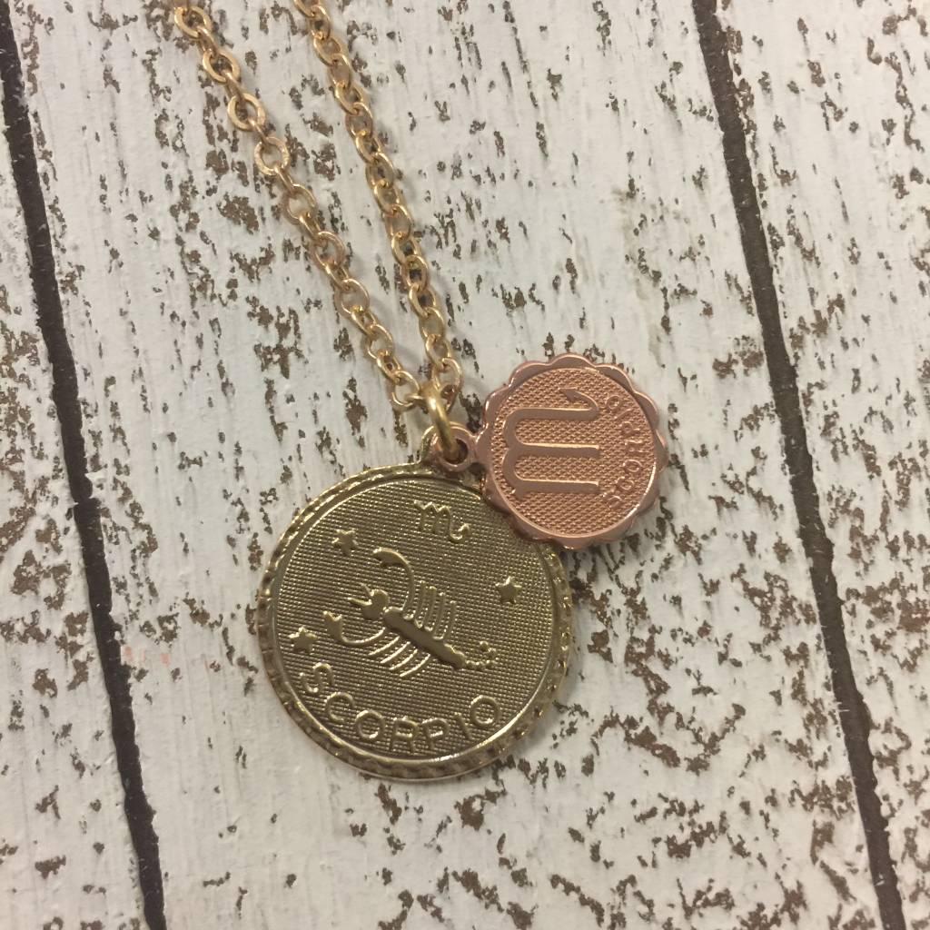Bonnie Jonas Zodiac Medallion - Scorpio