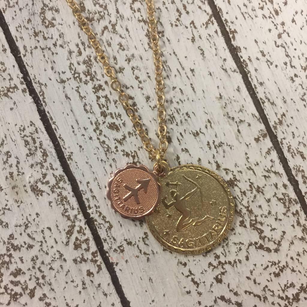 Bonnie Jonas Zodiac Medallion - Sagittarius