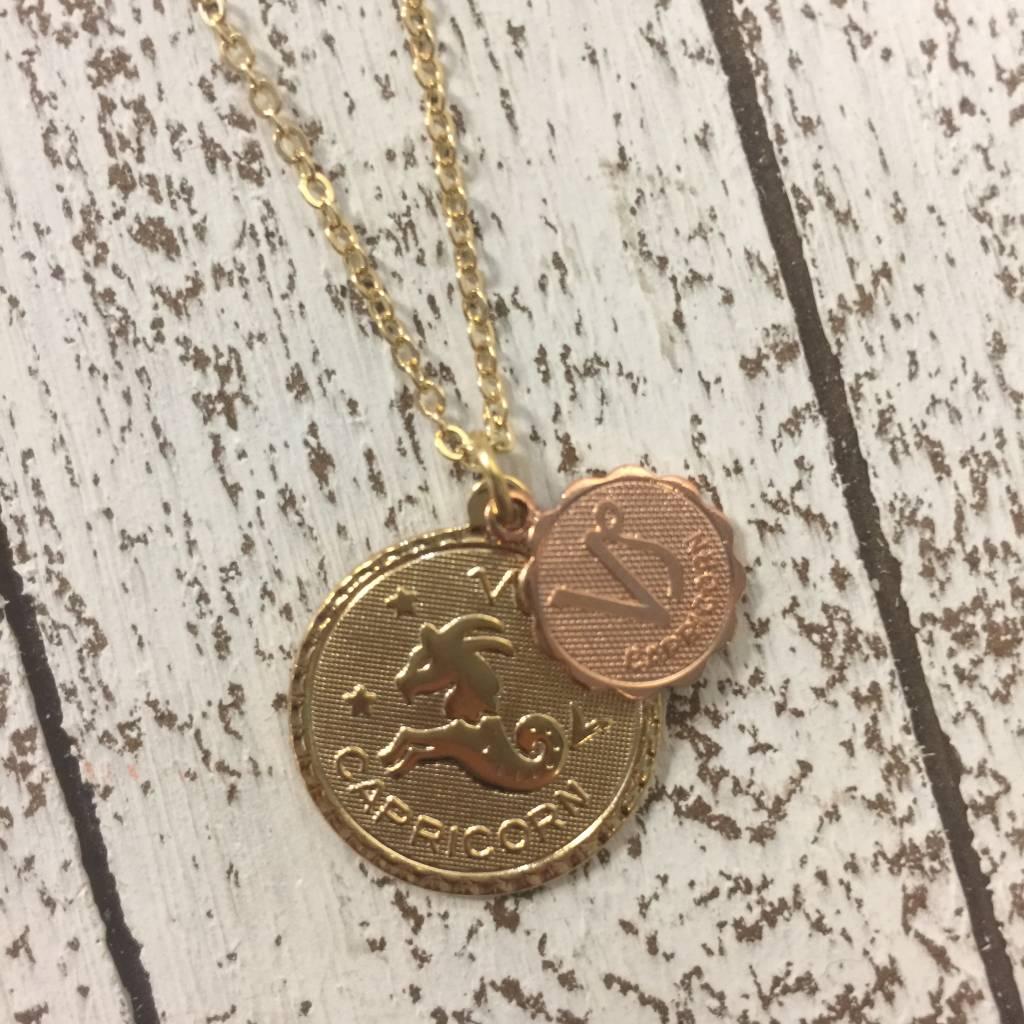 Bonnie Jonas Zodiac Medallion - Capricorn