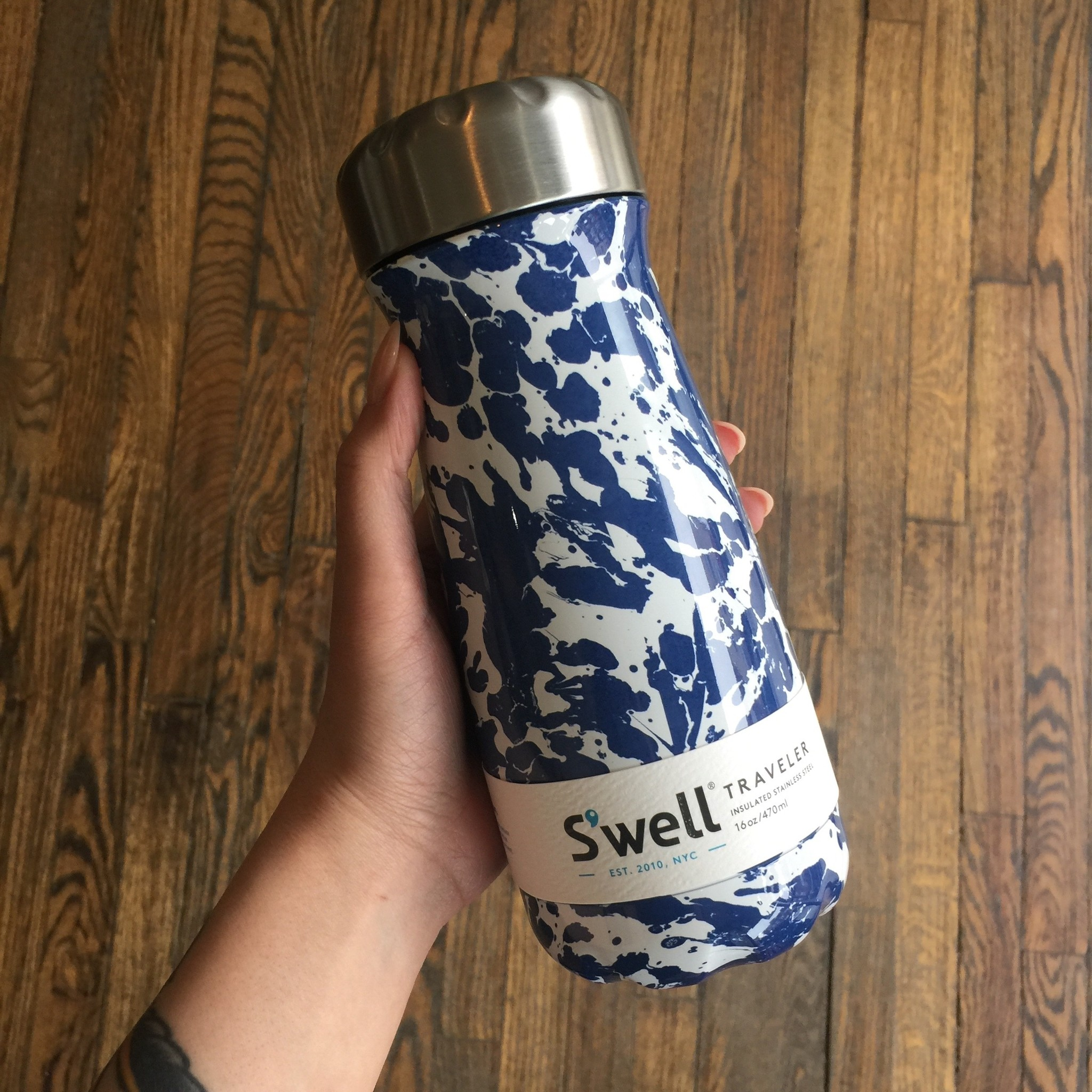 S'well S'well Traveler 16oz - Enamel Blue