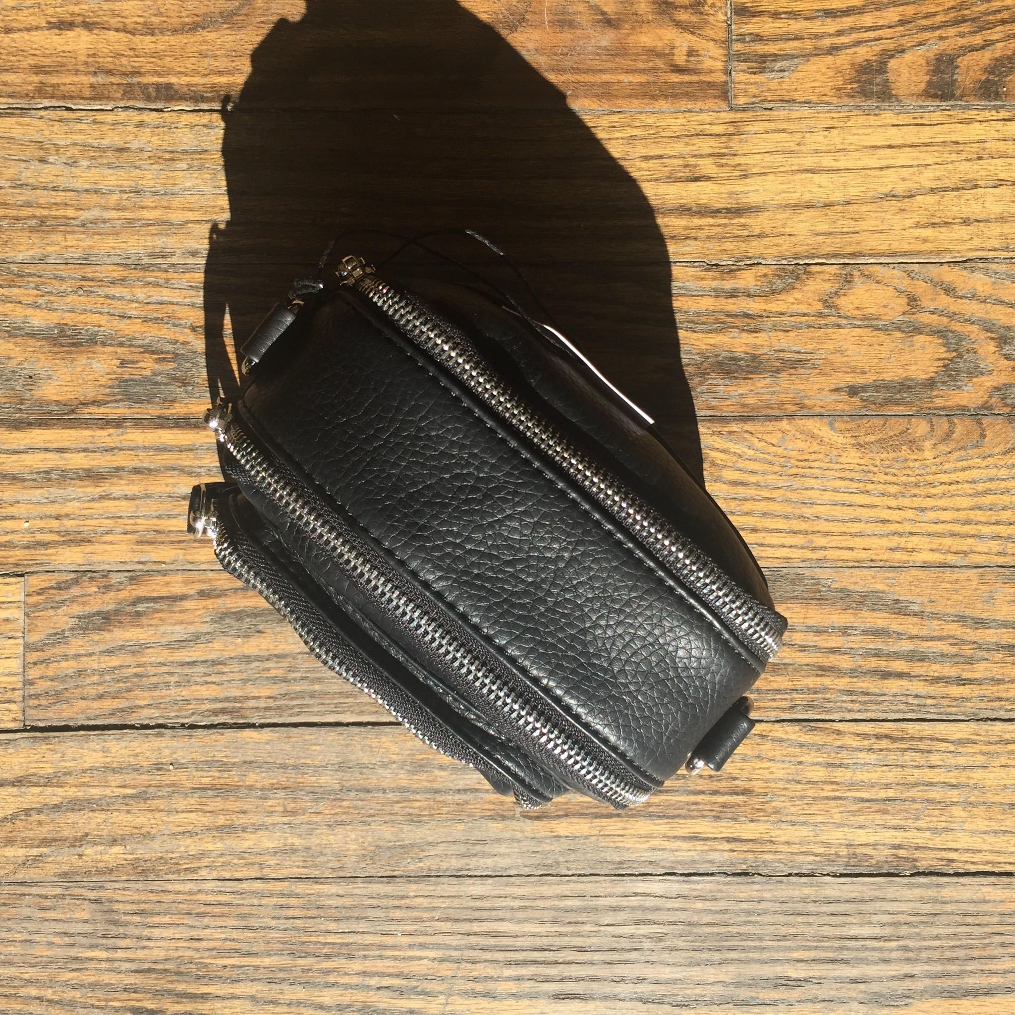 Colab PVC Crossbody - Black