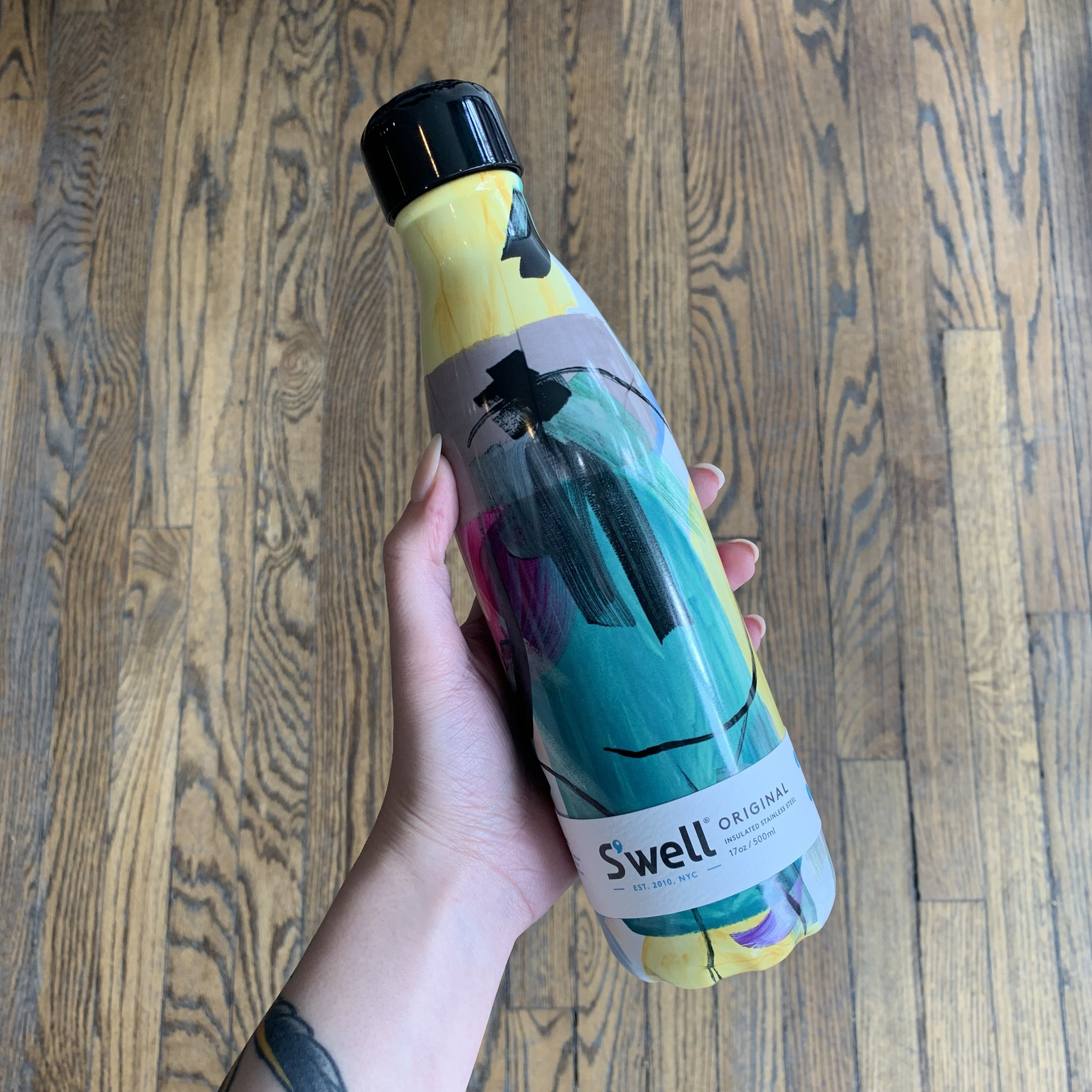 S'well S'well 17oz Abstract - Brush Strokes