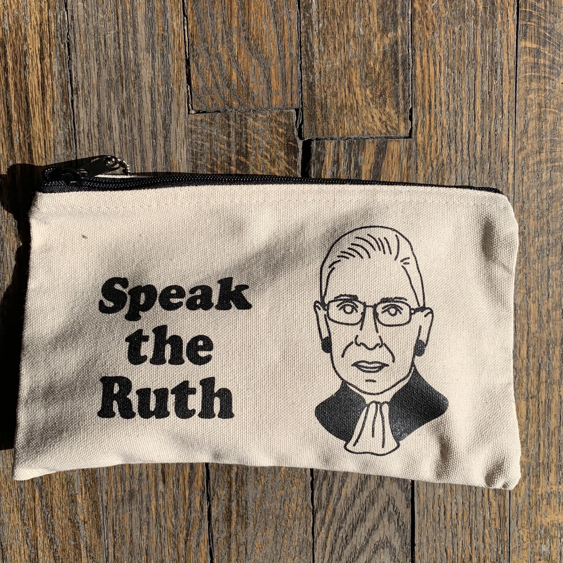 Seltzer Zip Pouch - Ruth RBG