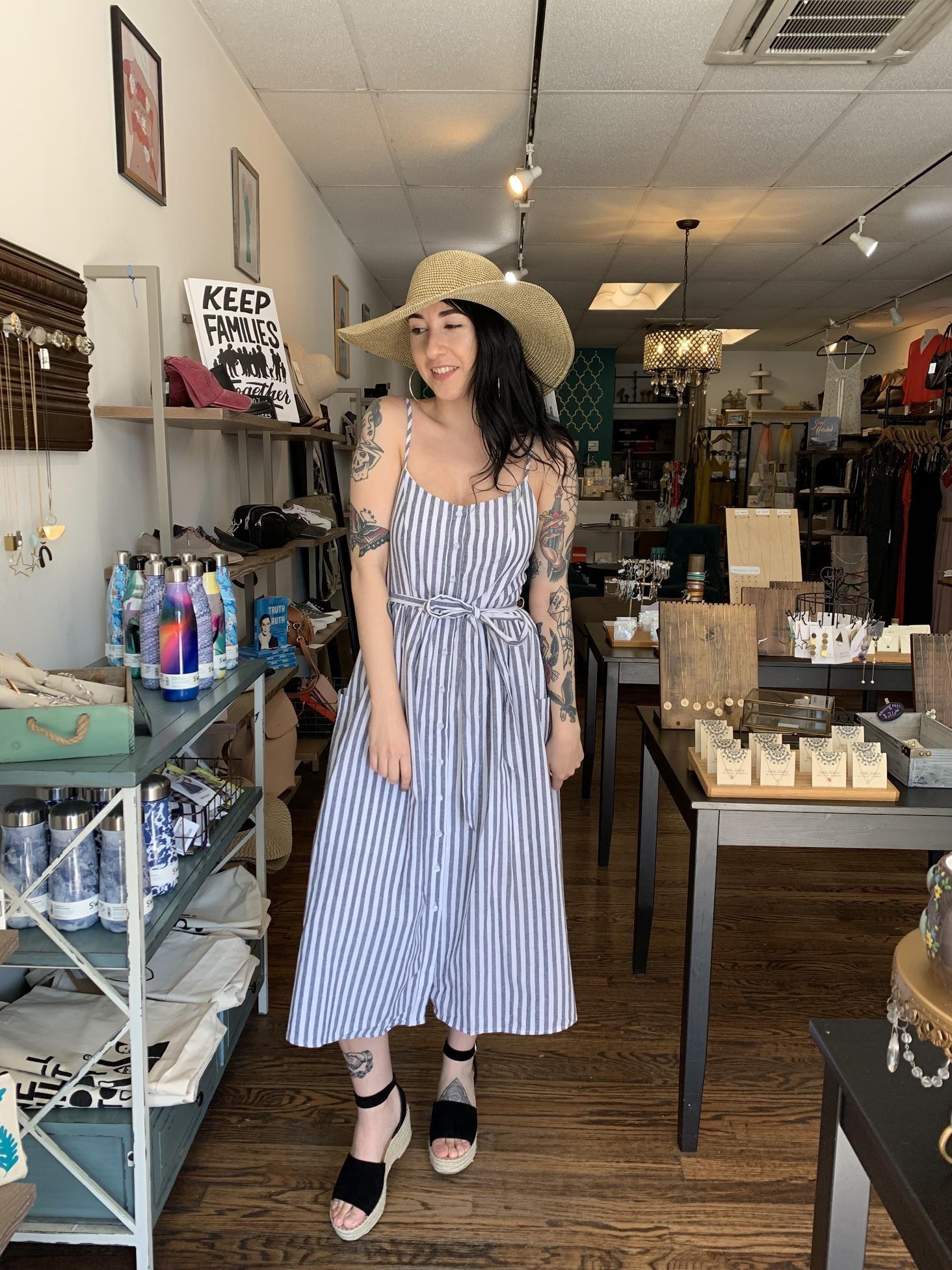 Mod Ref Cheryl Dress - Navy