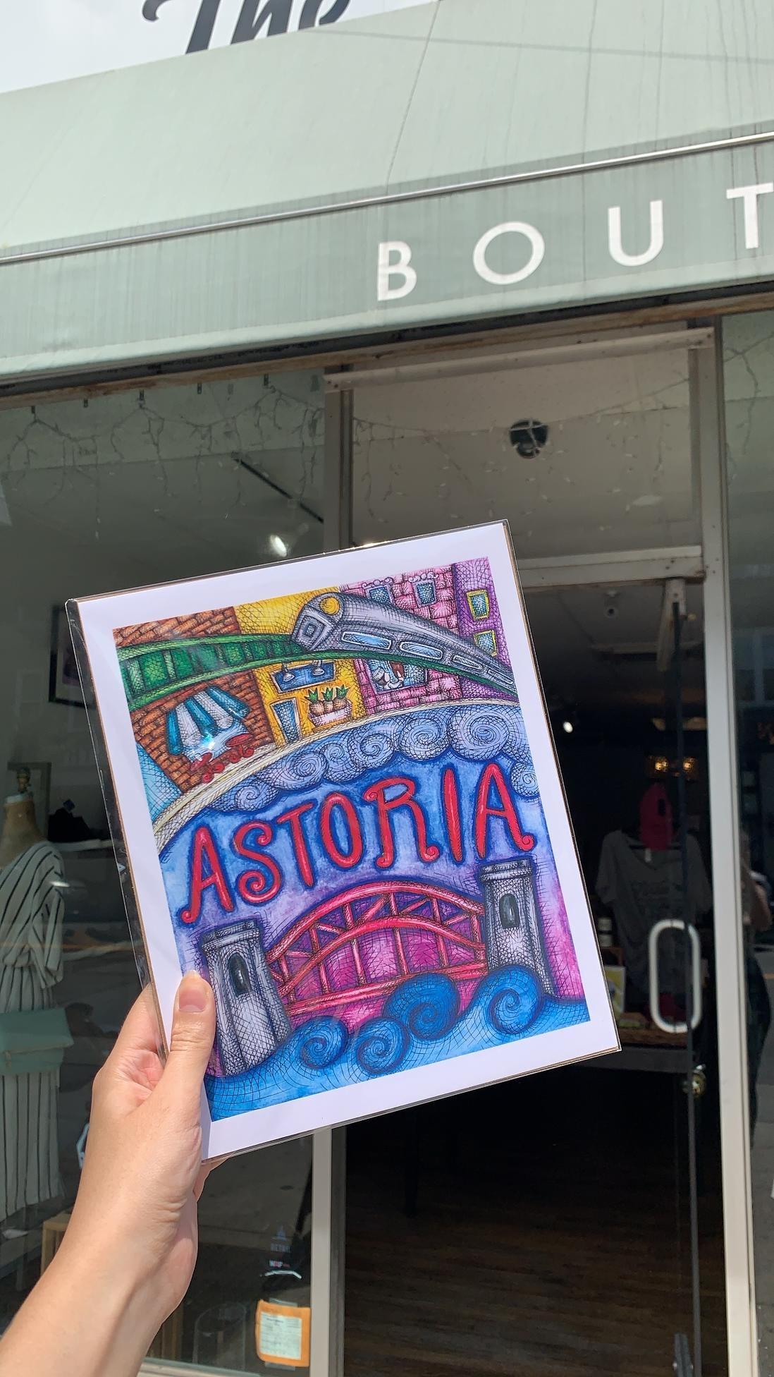 About a Cloud Astoria Print