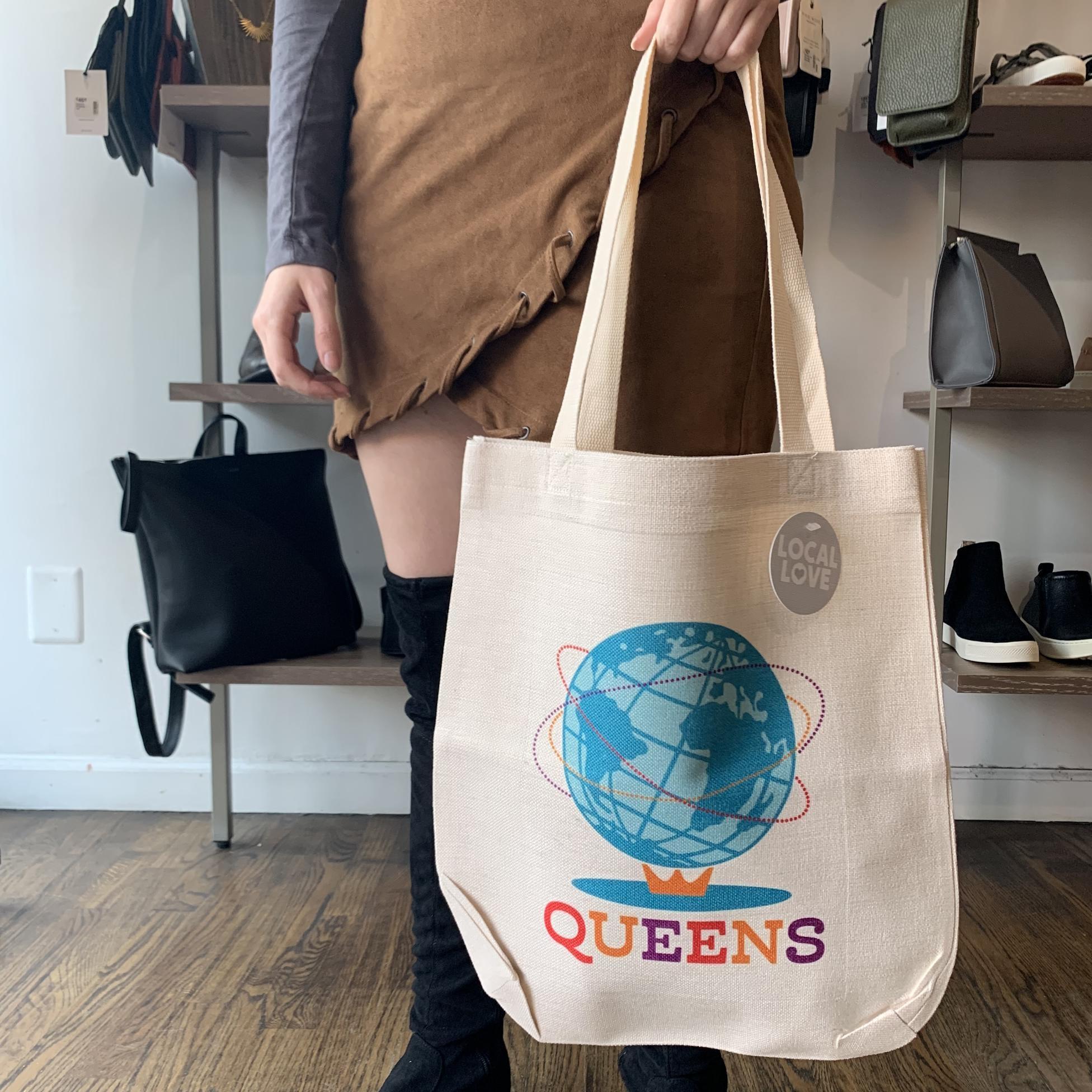 Rock Scissor Paper Tote Bag - Queens Unisphere
