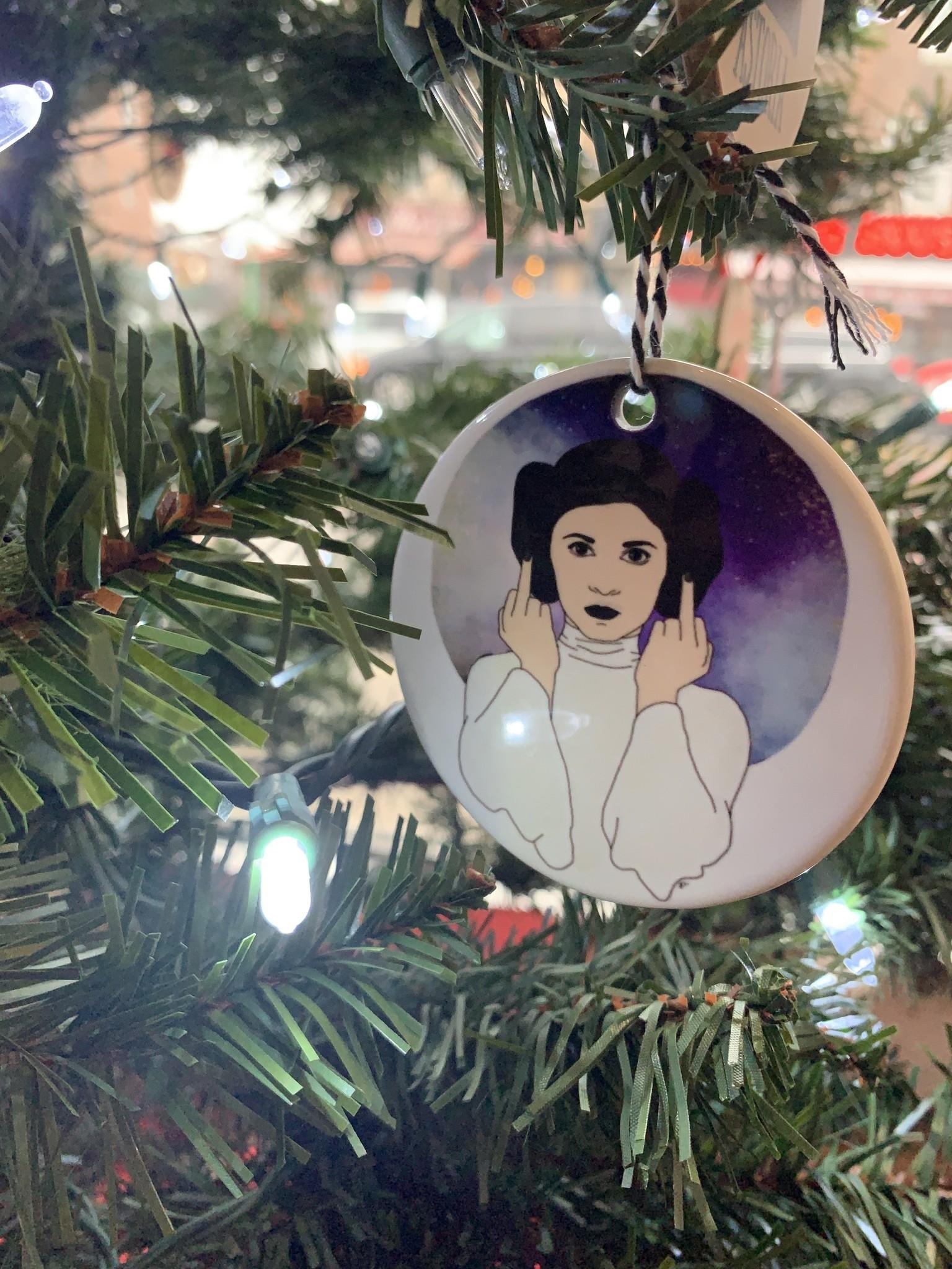 Citizen Ruth Princess Leia Ornament