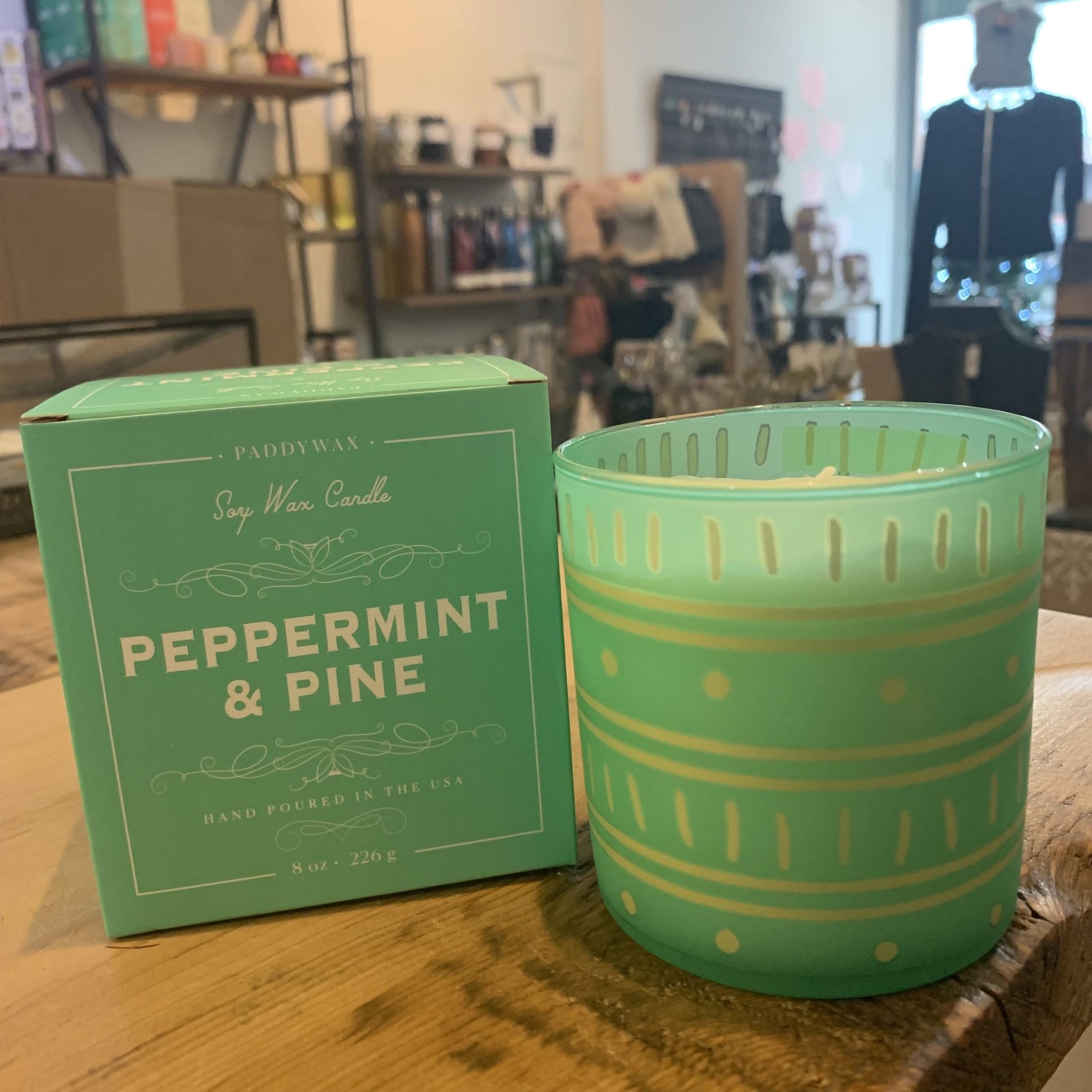 PADDYWAX Glee 8oz Peppermint & Pine