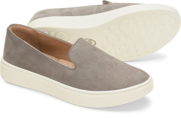 Sofft Shoe Company Sofft Somers - Grey Suede - FINAL SALE