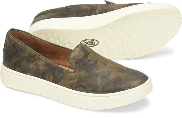 Sofft Shoe Company Sofft Somers - Olive Camo - FINAL SALE