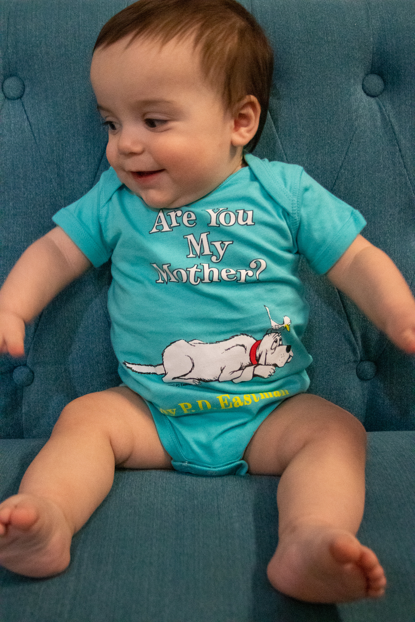 Out of Print Onesie- Are You My Mother