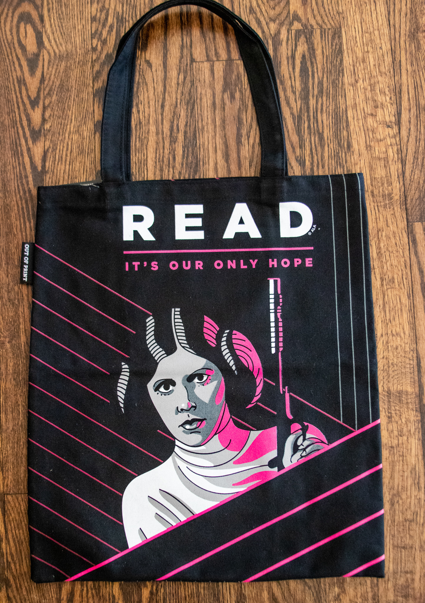 Out of Print Tote- READ Leia