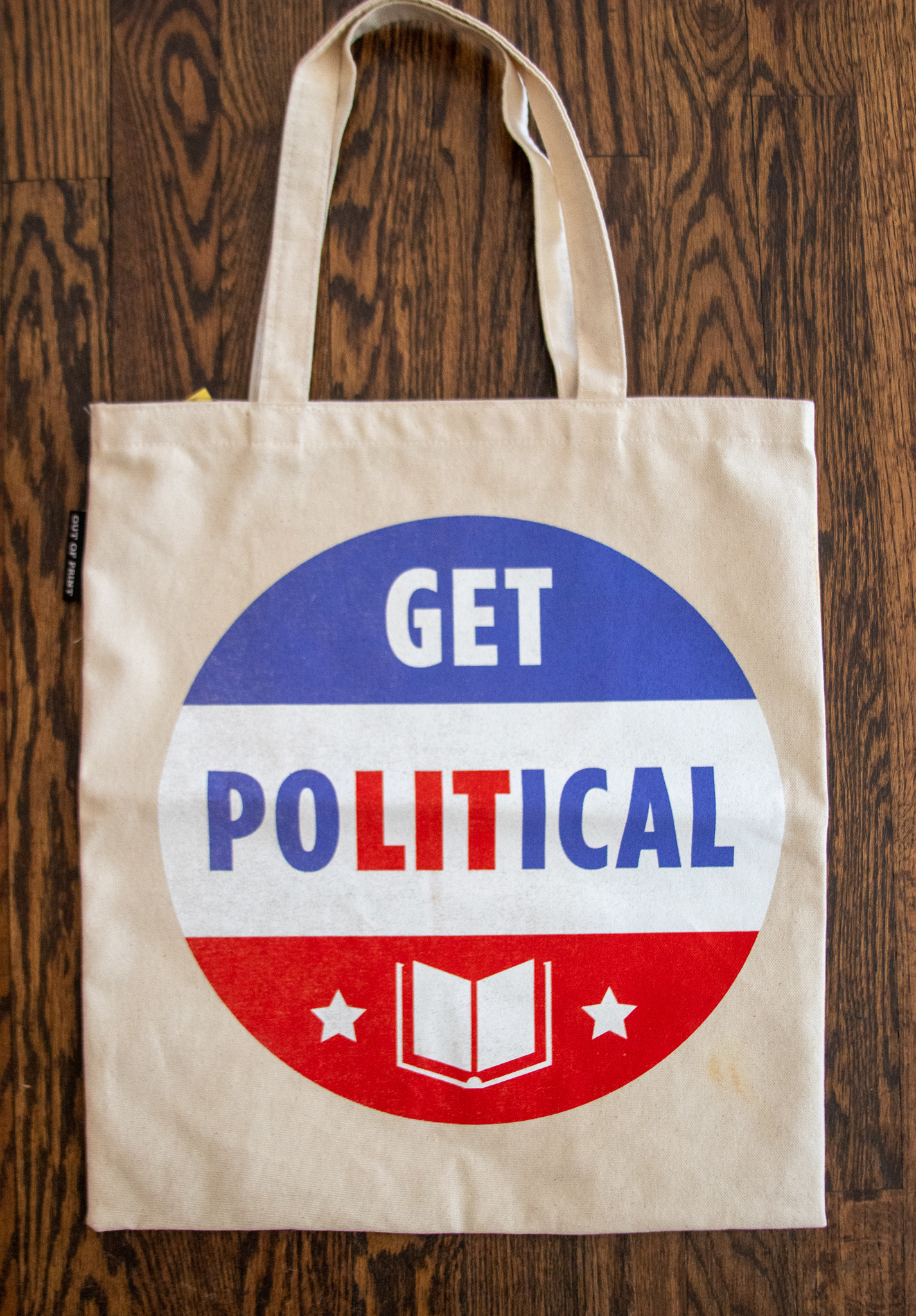 Out of Print Tote- Get Political