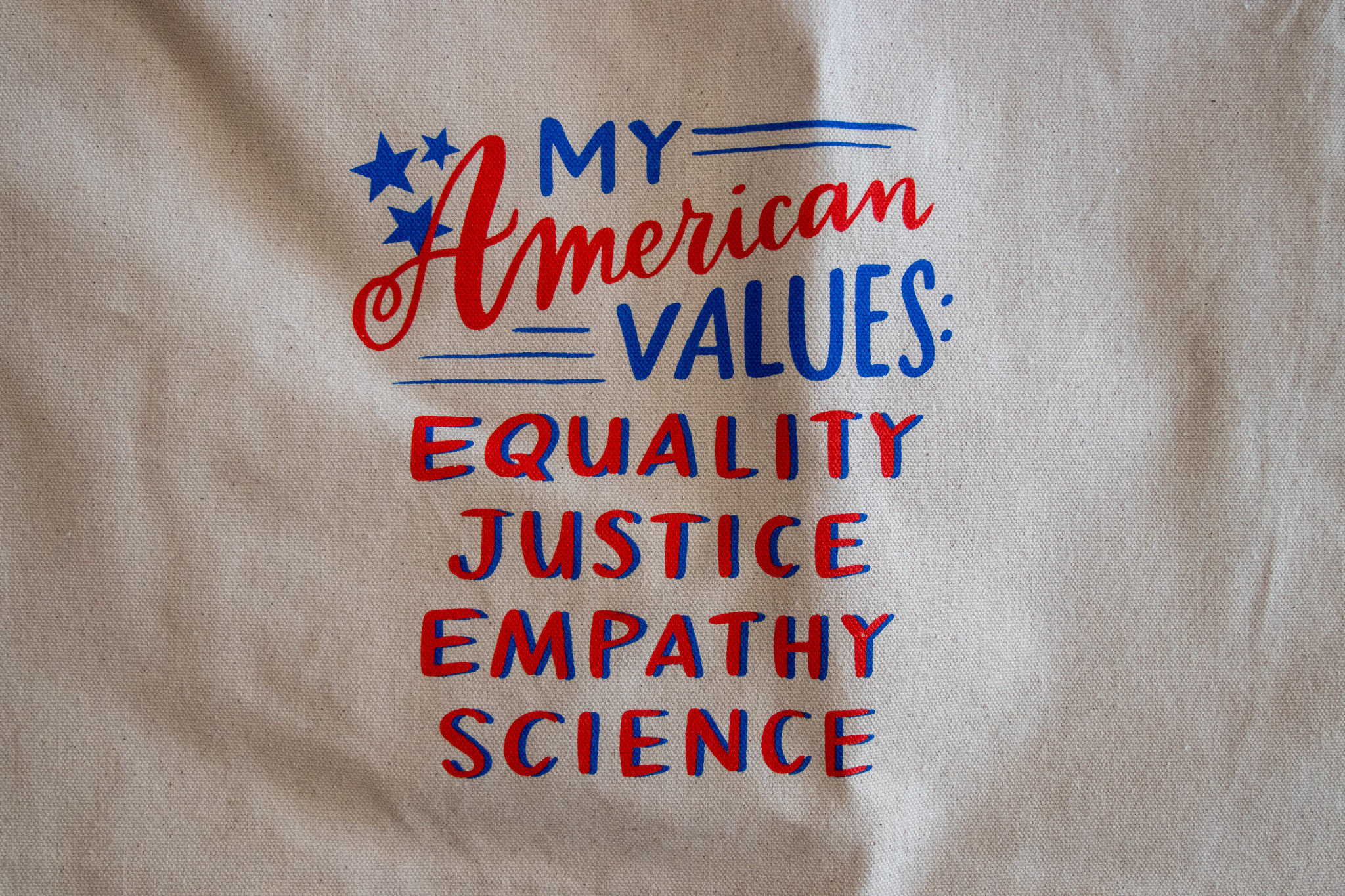 Emily McDowell American Values Tote Bag