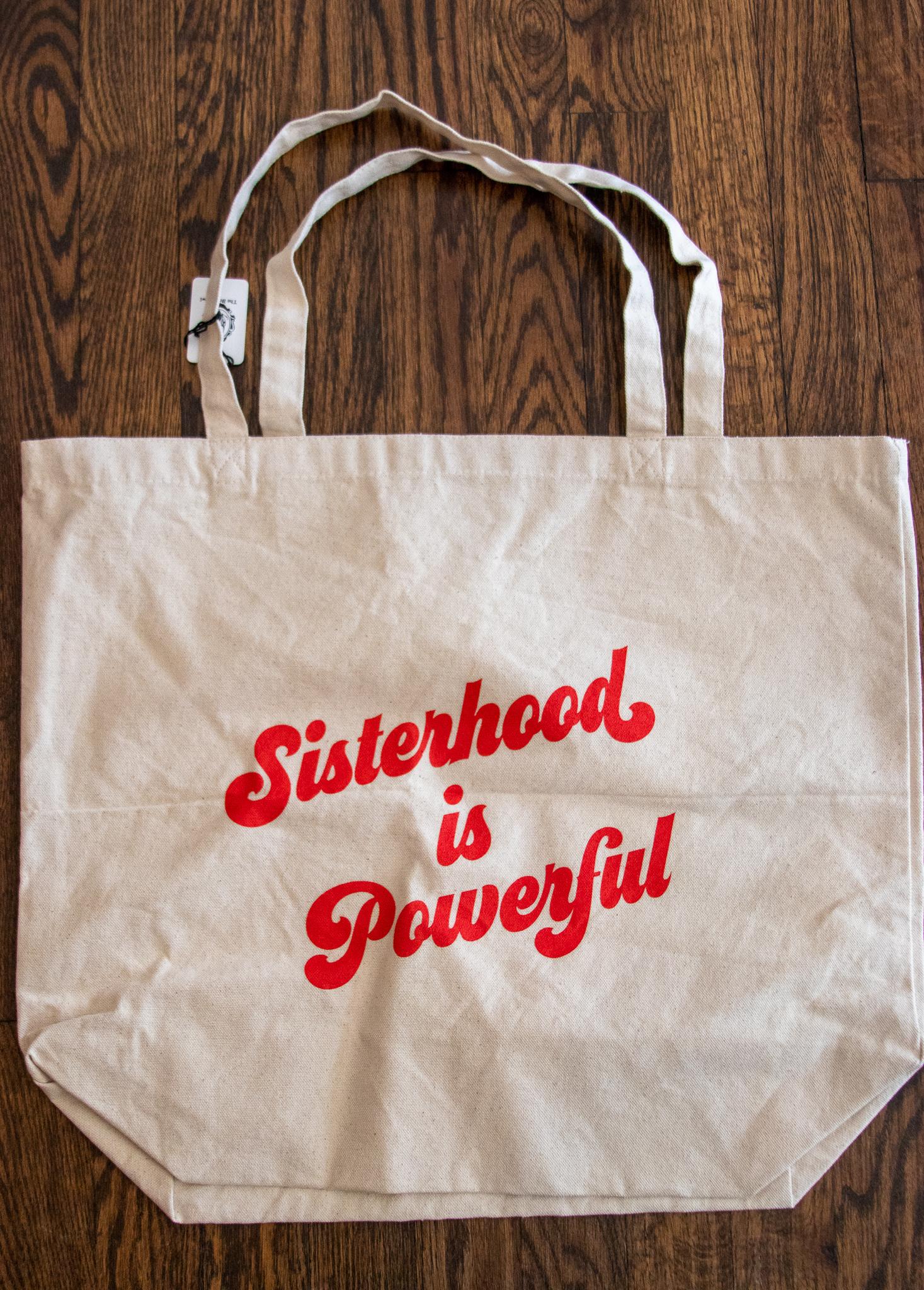 Luella Sisterhood is Powerful Tote Bag