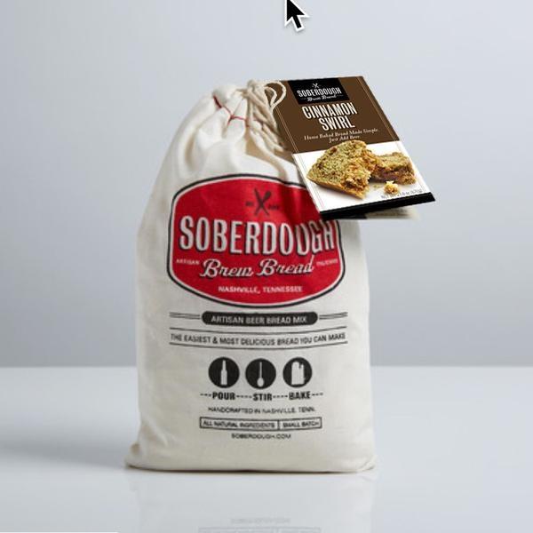 SoberDough SoberDough -  Cinnamon Swirl