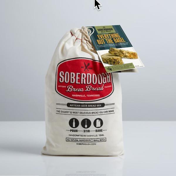 SoberDough SoberDough - Cheesy Garlic