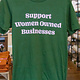 Luella Support Women Owned-Green - FINAL SALE