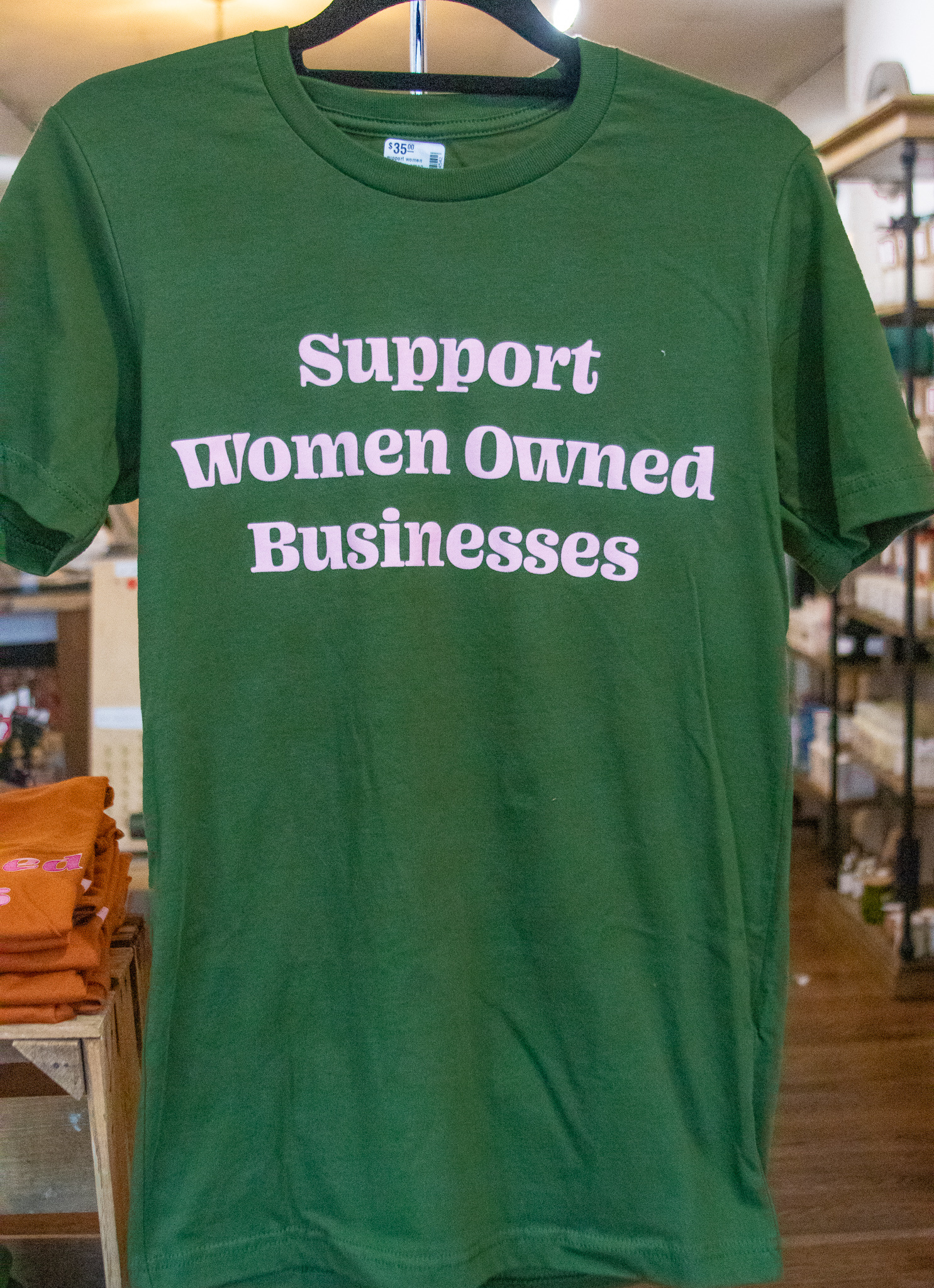 Luella Support Women Owned-Green