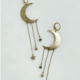 Bou-Cou Bronze Moon Earrings
