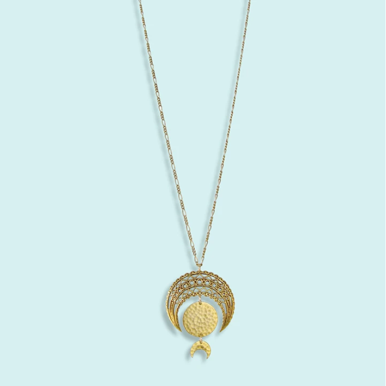 Ornamental Things Moon Phase Necklace