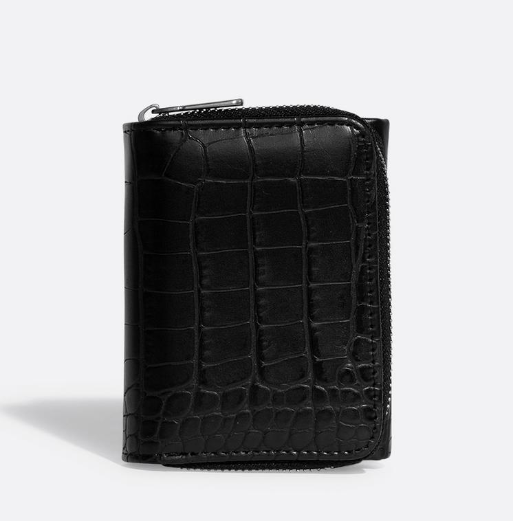 Pixie Mood Pixie Mood Candice Wallet - Blk Croc