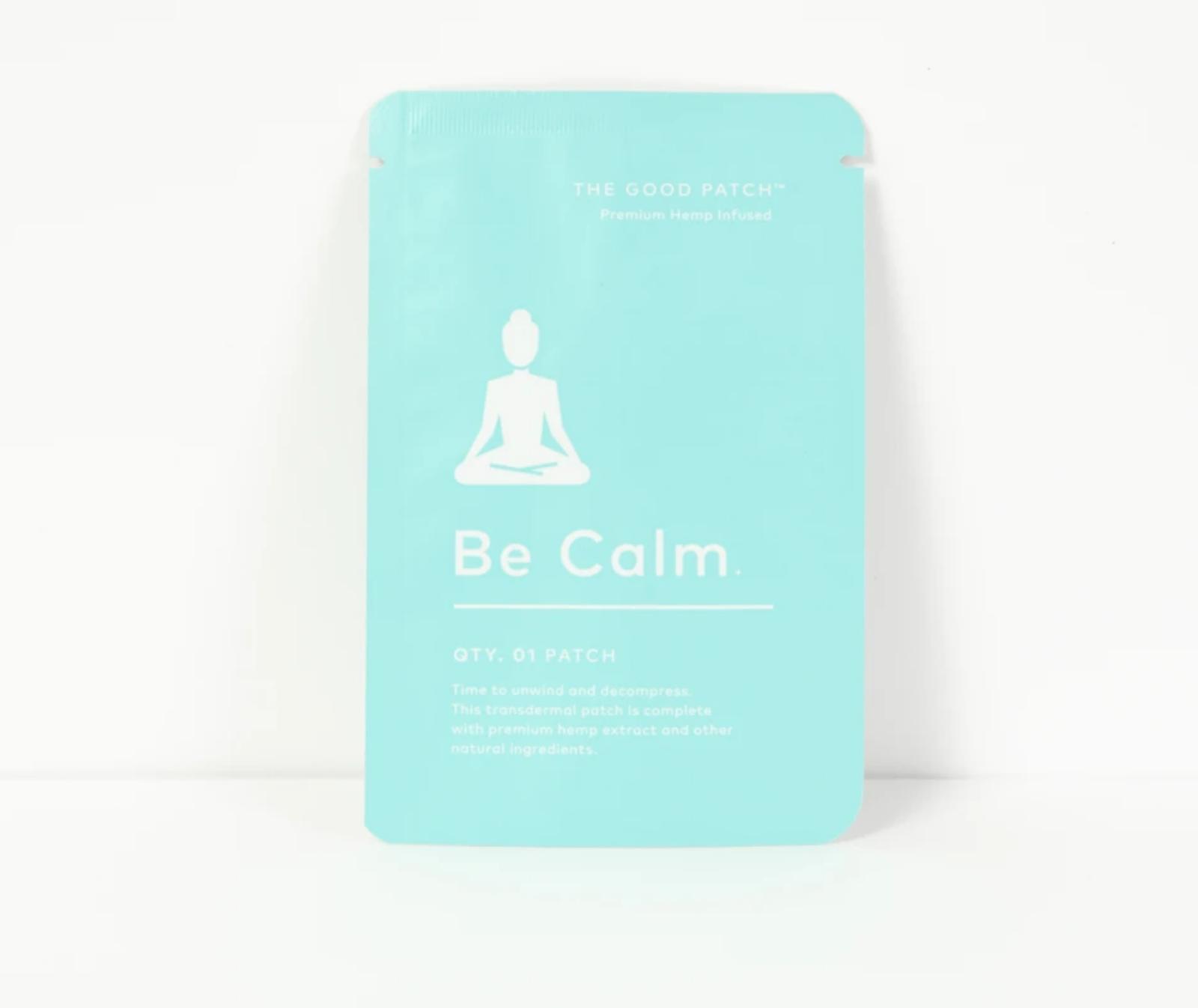 The Good Patch Hemp Patch - Be Calm