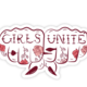 Boss Dotty Girls Unite Sticker