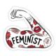Boss Dotty Feminist Tattoo Sleeve Sticker