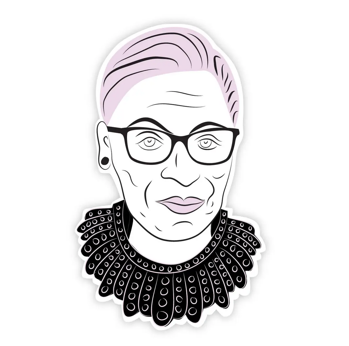 Boss Dotty Ruth Bader Ginsburg Sticker