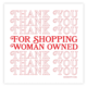 Boss Dotty Women Owned Sticker