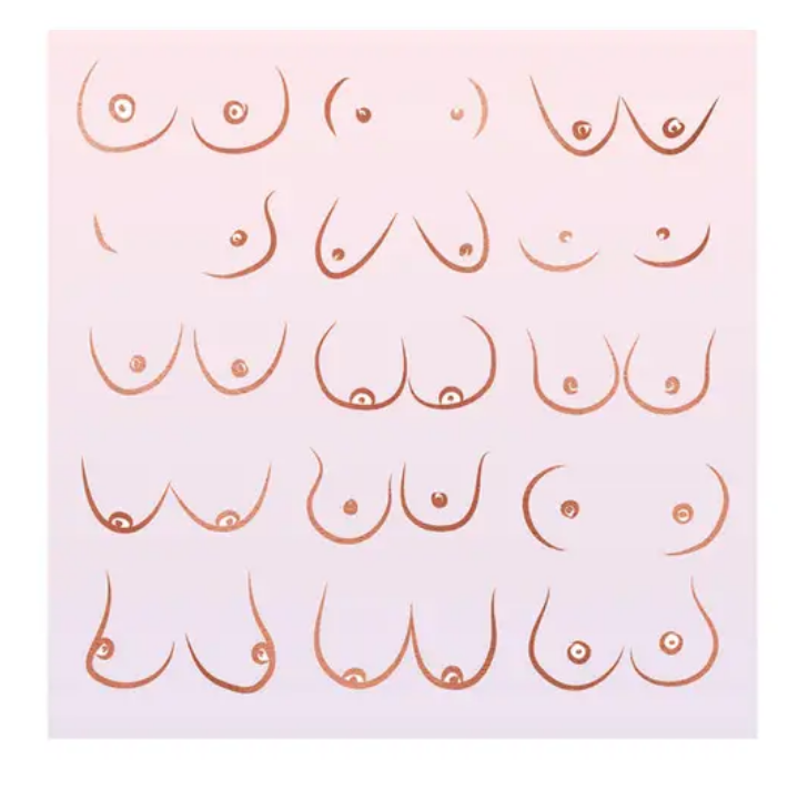 Boss Dotty Ombre Breast Art Print